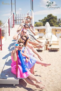Despedida de soltera / beach Bachelorette party / девичник / JGA / EVJF / Lánybúcsú