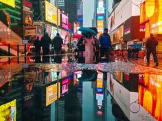 el inigualable spot: time square