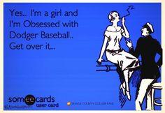 Get over it...Dodger Baseball #AllDayEveryDay
