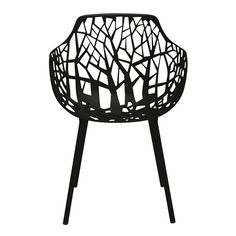<p> A modern take on classic faux bois furniture, our Forest Armchair evokes the organic. Light, strong and well able to withstand the elements, this beautiful indoor-outdoor option combines a powder-coated die-cast aluminum seat and back with tubular aluminum legs.</p>