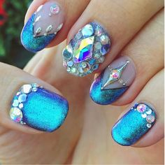 Joey Graceffa's nails he posted on Instagram 7/28/16