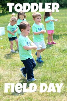 toddler field day {outdoor activity day for pre-preschoolers}