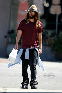 Jared Leto leaving Joan's on 3rd 2 June 2014