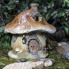 Mushroom Fairy House -