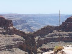"The Grand Canyon    ""The Eagle"" Rock Formation on the Hualapai Indian Reservation"