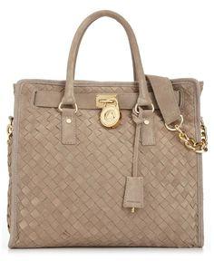 MICHAEL Michael Kors Handbag, Hamilton Woven Large Tote