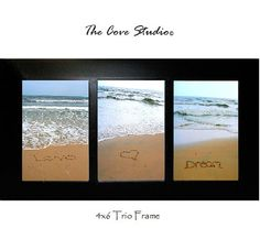 4x6 Sand Writing Trio Print by TheCoveStudio on Etsy, $25.00