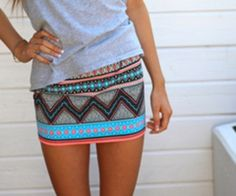 Tribal Skirts-seriously want this! Loveeee