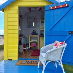 Beach Huts, Beach Cottages, Beach Hut Interior, Playhouse Decor, Sea Bedrooms, I Love The Beach, Play Houses, Boating, Aurora