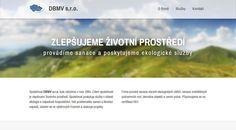 Responsive web design: http://www.dbmv.cz/