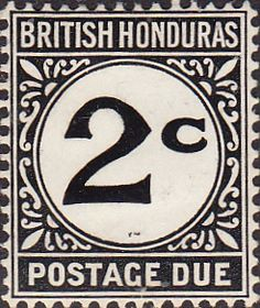 British Honduras 1922 Postage DueSG D2 Fine Mint SG D2 Scott J2 Other British Commonwealth Empire and Colonial stamps for sale Here