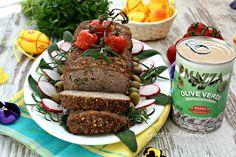 Drob de carne și măsline verzi - Gust și Aromă Meatloaf, Recipes, Food, Recipies, Essen, Meals, Ripped Recipes, Yemek, Cooking Recipes