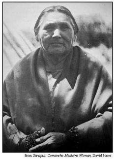 Sanapia, born Poafpybitty, last known eagle doctor - Nʉmʉnʉʉ (Comanche) Nation