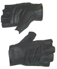 Womens Fingerless Motorcycle Gloves The double padded palms are incredible.  Great comfort. No hand 5c6bc3addf45
