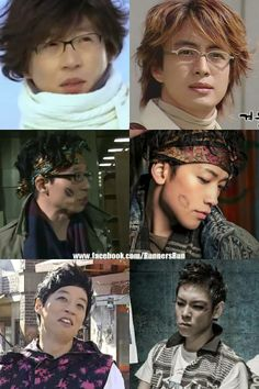 Yoo Jae Suk as Bae Yong Joon, Rain & BIGBANG's TOP :-)