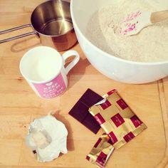 Buon martedì, io faccio il pane #segale #food #foodpic #blog #foodblogger #pane #homemade #pane #cioccalato #domori #lievito #miele #segale #yummy #panificazione