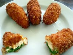 Snack: Jalapeño Poppers with Hank's Chilli Jam would be yum