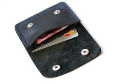 Mini Leder Portemonnaie ☆ Money & more ☆ von Chiquita Jo ♥  auf DaWanda.com