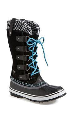 Sorel 'joan of arctic - knit' waterproof boot (women) nordstrom. Sorel Boots, Ugg Boots, Bootie Boots, Cute Shoes, Me Too Shoes, Women's Shoes, Nordstrom Boots, Best Winter Boots, Sorel Joan Of Arctic