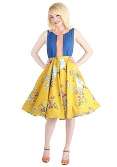 ModCloth.com Ikebana for All Skirt in Floral | http://www.modcloth.com/shop/skirts/ikebana-for-all-skirt-in-floral