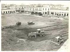 Construcción Plaza Valladolid en los 60s