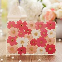 Personalized Double Gate-Fold Pink floral design Wedding Invitations Invitation…