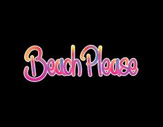"""Check out new work on my @Behance portfolio: """"Beach Please"""" http://be.net/gallery/48485097/Beach-Please"""