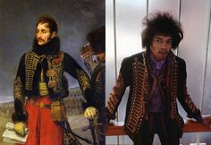 Jimi Hendrix General Lasakke Royal Hussars Military Jacket