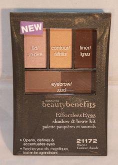 Wet n Wild Beauty Benefits Effortless Eyes Shadow & Brow Kit - Choose Your Shade | eBay