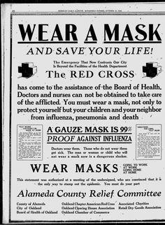 Berkeley shut schools, required masks in 1918. Read a woman's letters from that pandemic — Berkeleyside Satire, Oude Advertenties, Oude Foto's, Griep, Kronen, Krant, Lachend, Grappen, Nostalgie