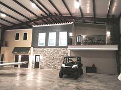 Metal Buildings with Living Quarters | Residential Steel ...