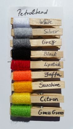 Inspired by the Woolly Hugs 'Kinship Projects' colour palettes I have decided to create some on my own to share with fellow crocheters & knitters (an