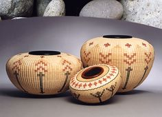 I love Joan Brink's work - woven basket forms.