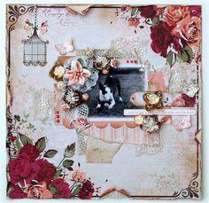 Scrapbooking, Scrapbook Cards, Scrapbook Layouts, Project Portfolio, Rose, Dog Cat, Paper Crafts, Painting, Inspiration