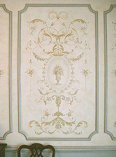 Versailles Grand Panel Stencil  See more Classical Stencils: http://www.cuttingedgestencils.com/classical-stencils-for-walls.html