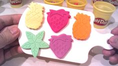 Play Doh  Fruits Molds Fun Learning Colors | Play doh Creative for Kids