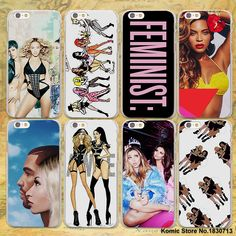 holy trinity rihanna nicki minaj and beyonce hard clear Cases cover for Apple iPhone 7 6 6s Plus SE 4s 5 5s 5c plastic phone cas