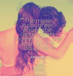 The more a daughter knows