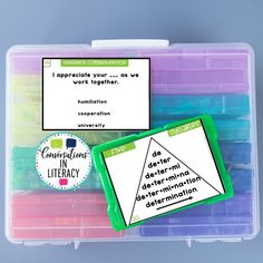 Decoding Multisyllabic Words (5 syllables) with Word Triangles and Sentence Comprehension task cards! Perfect for quick word work during guided reading and for literacy centers! #phonics #fluency #literacycenters #guidedreading #readinginterventions #RTI #wordwork #backtoschool first grade, second grade, third grade, fourth grade, fifth grade
