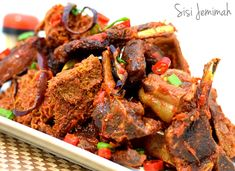 Nigerian Assorted Peppered Meats - Party Style