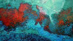 "Lauraine Barraud ""Oxyde-Callaïte II"" 30.00 cm x 80.00 cm (11.81"" x 31.50"") TIRAGE SUR PAPIER PHOTO CHF 400.00  laurainebarraud Chf, Abstract, Artwork, Artist, Photography, Summary, Work Of Art, Auguste Rodin Artwork, Artworks"