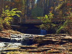 Saunders Springs Nature Preserve in Radcliff, Kentucky.
