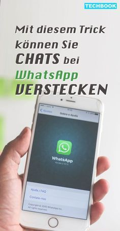 """Über die Funktion """"Archivieren"""" kannst du Chats bei WhatsApp verstecken Some messages should rather remain a private matter. With a simple function, you can hide a chat within seconds in the messenger. TECHBOOK explains how to hide secret chats. Android Tricks, Iphone Whatsapp, Savings Planner, Iphone Hacks, Iphone App, Budget Planer, Tech Hacks, Secret Code, Simple Life Hacks"""