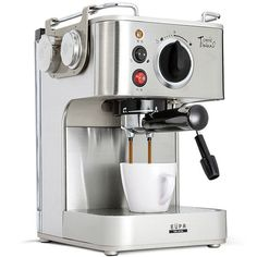 Eupa 220V Espresso Coffee Machine Automatic Steam Coffee Maker TSK-1819A
