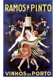 Ramos Pinto Wine Vintage Poster Fine Art Giclee Print