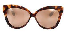 Linda Farrow sunglasses, $975, shopBAZAAR.com   - HarpersBAZAAR.com