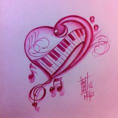 Colorful Hearts and Music Notes - Bing Images