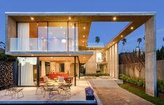 Arquiteto constrói casa dos sonhos na Califórnia