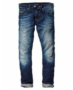 Scotch & Soda LOT 22 RALSTON - SLIM - RESERVOIR Mens Jeans