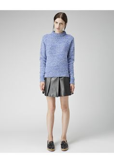 Peter Jensen / Chunky Purl Pullover | La Garconne